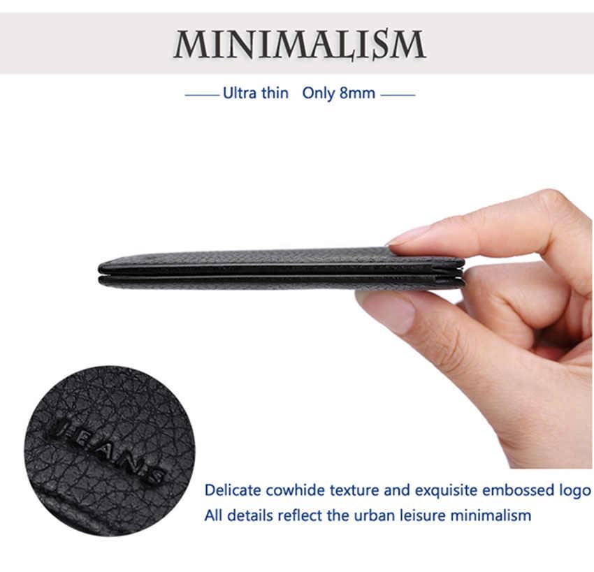 Williampolo Короткие Кошельки для Для мужчин из натуральной кожи кошелек Для мужчин отделение для монет держатель для карт кошелек мини маленький кошелек Бизнес подарок pl149
