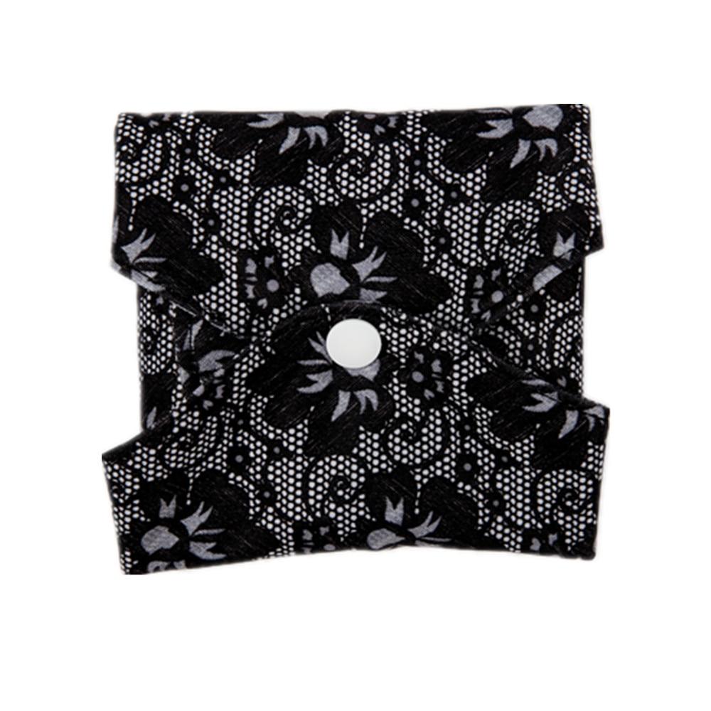 Reusable Washable Panty Liner Cloth Menstrual Sanitary Pad with Bamboo & Charcoal 4