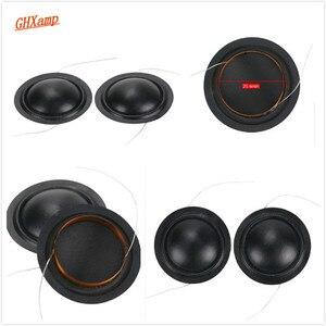 Image 5 - Promotion 12pcs 25.4mm Tweeter Voice Coil Silk Diaphragm Drive 25.5core KSV Treble Speaker Repair DIY 6ohm 8ohm 100pcs