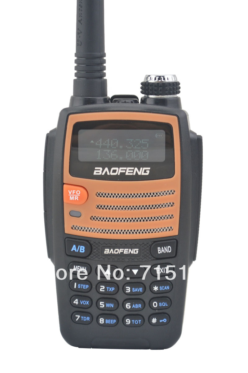 New 2014 Portable two way radio Baofeng BF-530I VHF+UHF Dual Band 5W 128CH FM radio walkie talkie with Free Earphone