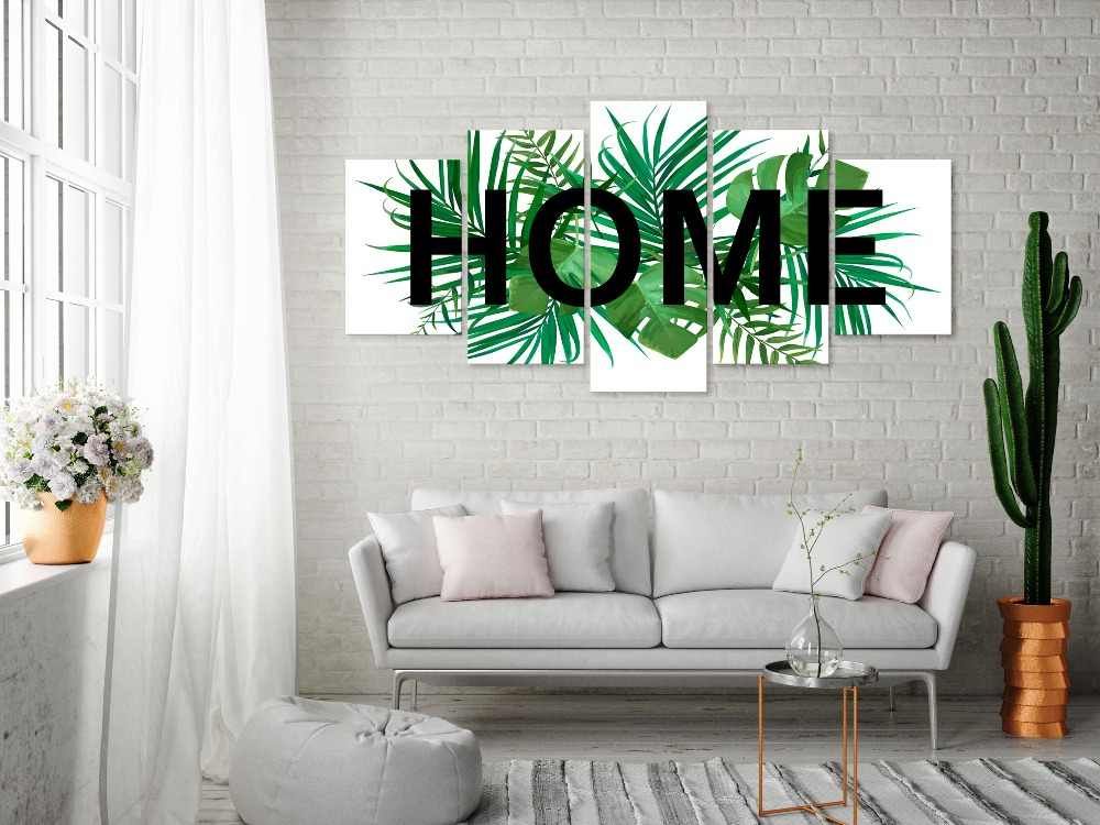 5 pieces/set Home poster Picture Print Painting On Canvas Wall Art Home Decor Living Room Canvas Art