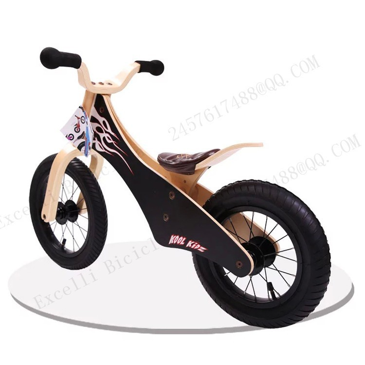 b21-Baby two wheels Wood Balance Bike for 2-6 Years age Bicicleta Infantil Balance Bike Kid's bicycle Common Childen's Cycling
