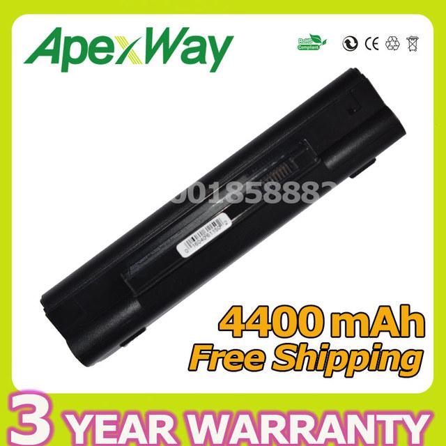 Apexway 4400 mah 6 celdas de batería portátil para dell inspiron 11z 1110 mini 10 mini 10 v mini 1010 0d597p 0kiu10 d597p