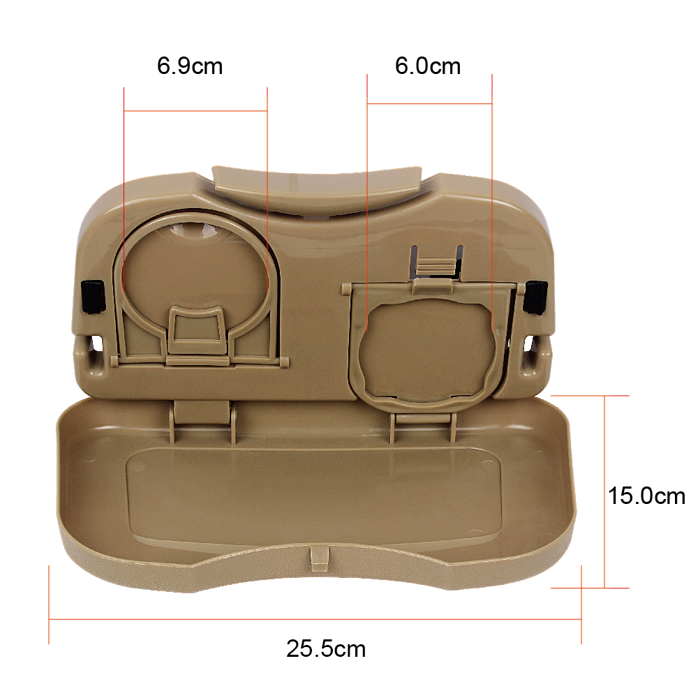 Venta caliente del coche mesa plegable soporte para taza de coche - Accesorios de interior de coche - foto 6