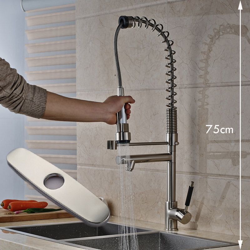 New Promotion Cheapest Kitchen Faucet with Hole Cover Plate Single Handle Single Hole цена