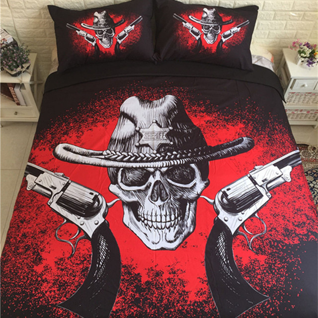 Gun Bed Sheets
