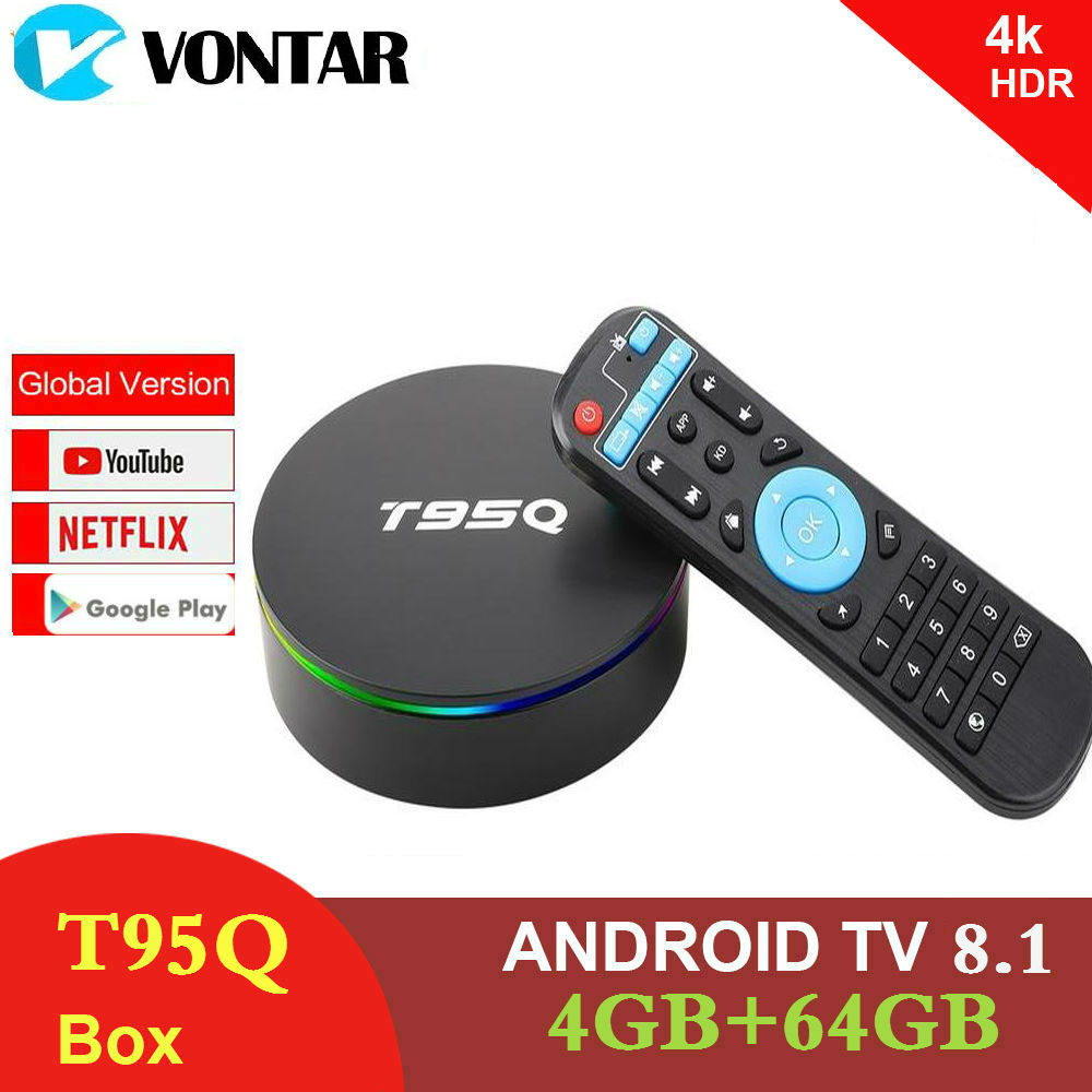 T95MAX Android 9 0 Smart 6K TV BOX 4GB RAM 64GB ROM