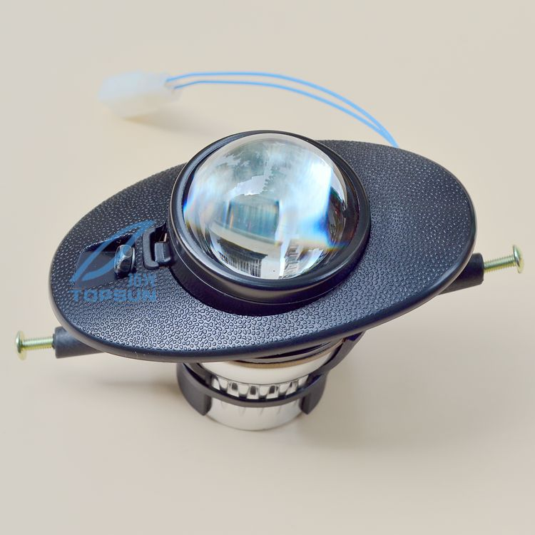 Car bifocal fog lens front bumper light bifocal lens Assembly case for Honda Insight City Civic Fit Crosstour Accord,Original