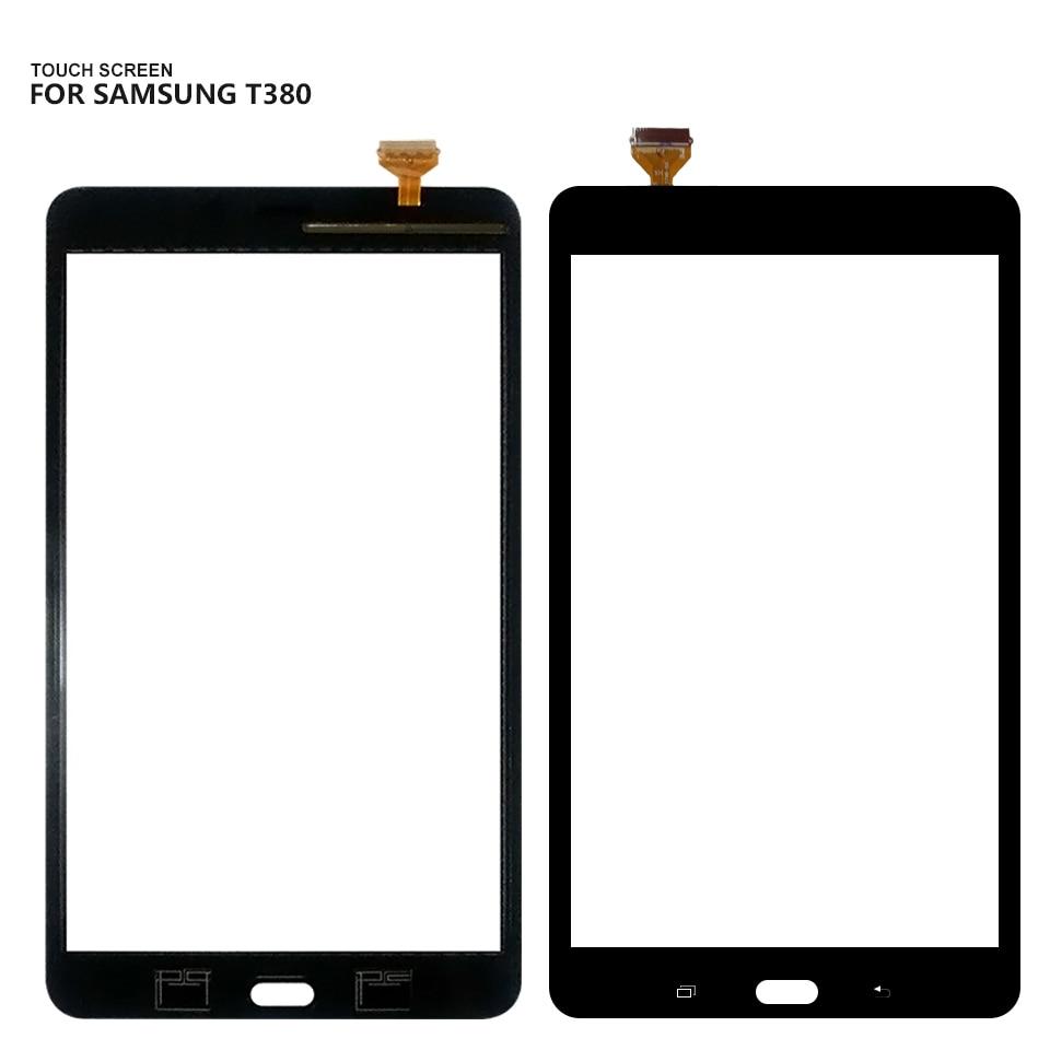 Для samsung Galaxy Tab 8,0 SM-T380 SM-T385 T380 T385 Сенсорный экран планшета Стекло Замена Бесплатная доставка