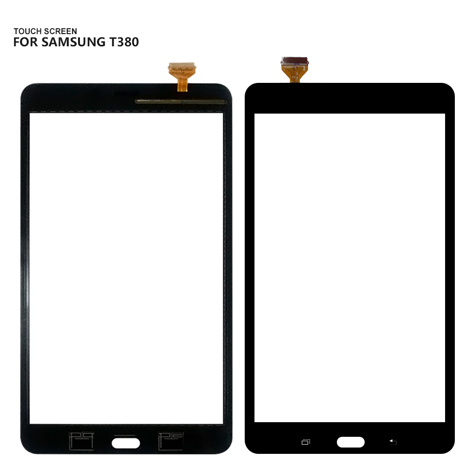 For Samsung Galaxy Tab A 8.0 SM-T380 SM-T385 T380 T385 Touch Screen Digitizer Glass Replacement Free Shipping 8 for samsung galaxy tab a 8 0 2017 sm t380 sm t385 t380 t385 lcd display touch screen digitizer glass assembly free tools