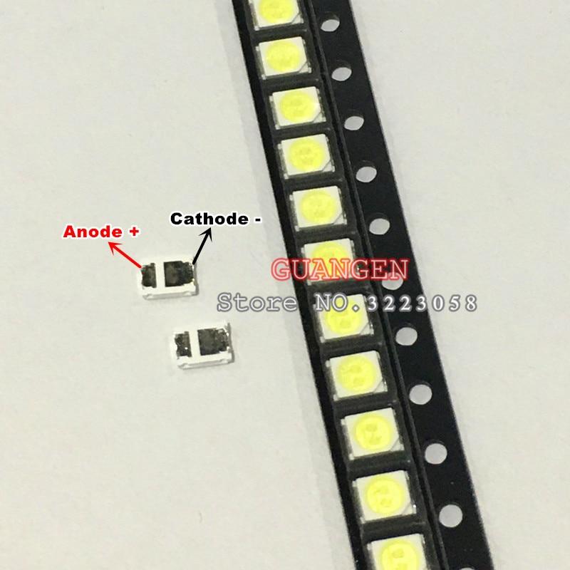 100-200pcs Original For Lg Led Lcd Tv Backlight Lens Beads 1w 3v 3528 2835 Lamp Beads Cold Cool White Light Diodes