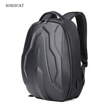 Men 17 Inch Fashion Hard Shell Laptop Backpack Multi-function Travel Outdoor Bag School Teenage Hardshell Back Pack Anti-theft все цены