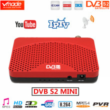 Vmade South America DVB S2 Satellite Receiver H.264 Digital TV Box HD DVB S2 MINI TV Tuner supports Youtube IPTV CCCAM Receptors