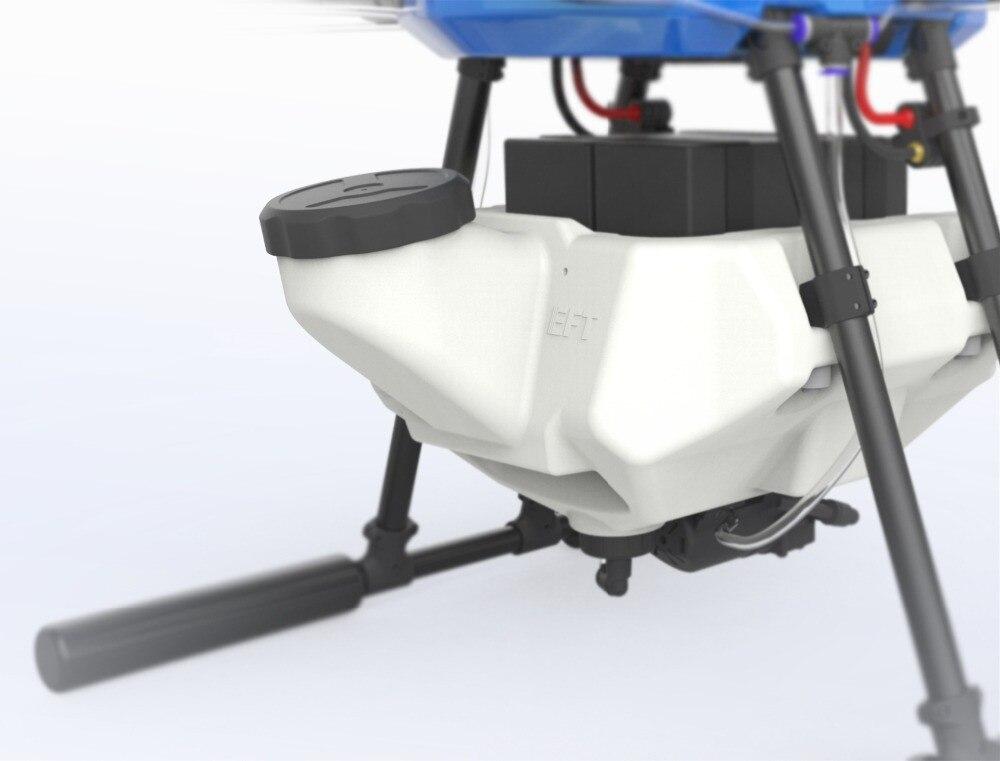 Oyuncaklar ve Hobi Ürünleri'ten Parçalar ve Aksesuarlar'de EFT E610 10L Tarım püskürtme drone su geçirmez uçuş platformu 1400mm hexacopter çerçeve kiti X6 güç sistemleri'da  Grup 2
