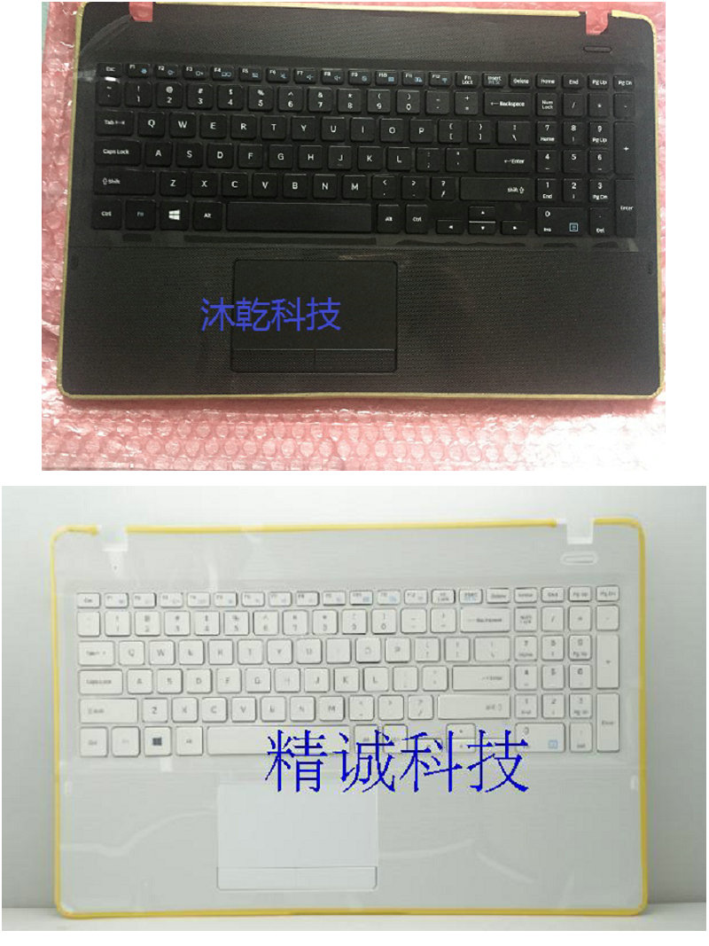 NEW US Keyboard for SAMSUNG 300E5K NP300E5K English laptop keyboard black and white