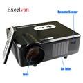 Original Excelvan proyector CL720D Ditital LED Full HD de Cine En Casa Proyector CL720D HDMI VGA/USB/AV/Digital Proyector de la TV