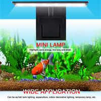 Aquarium LED Lighting Plants Grow Light Fish Tank Waterproof Clip-on Lamp#