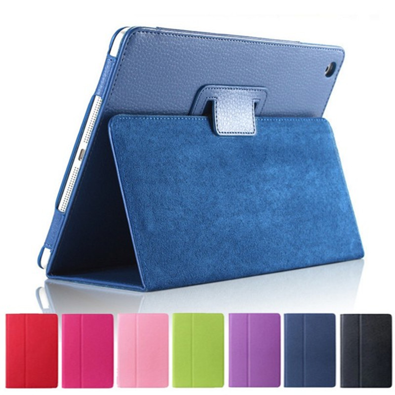 PU Leather Case Cover For Apple iPad mini 4 Case With Stand Card Tablet Case Leather Case for Apple iPad mini4 PU Cover