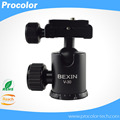 360' Rotating Mini Ball Head for Tripod With Quick Release Plate Maximum Load 8KG For Benro