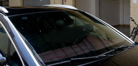 Steel Front Side Windshield Glass Strip Cover Trim 2pcs For Porsche Cayenne 2015 2016