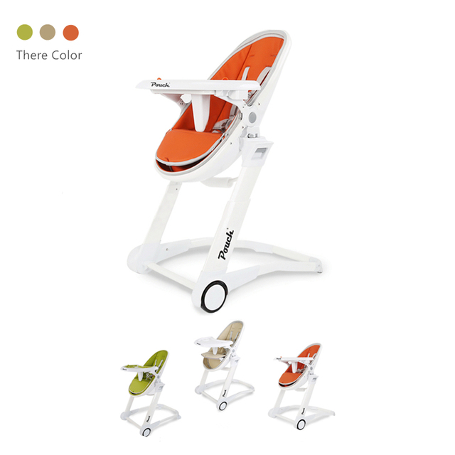 Pouch Little Castle Children Highchair Portable Plastic Eat Chair Luxury  Baby Seat High Chair Multifunctional Feeding