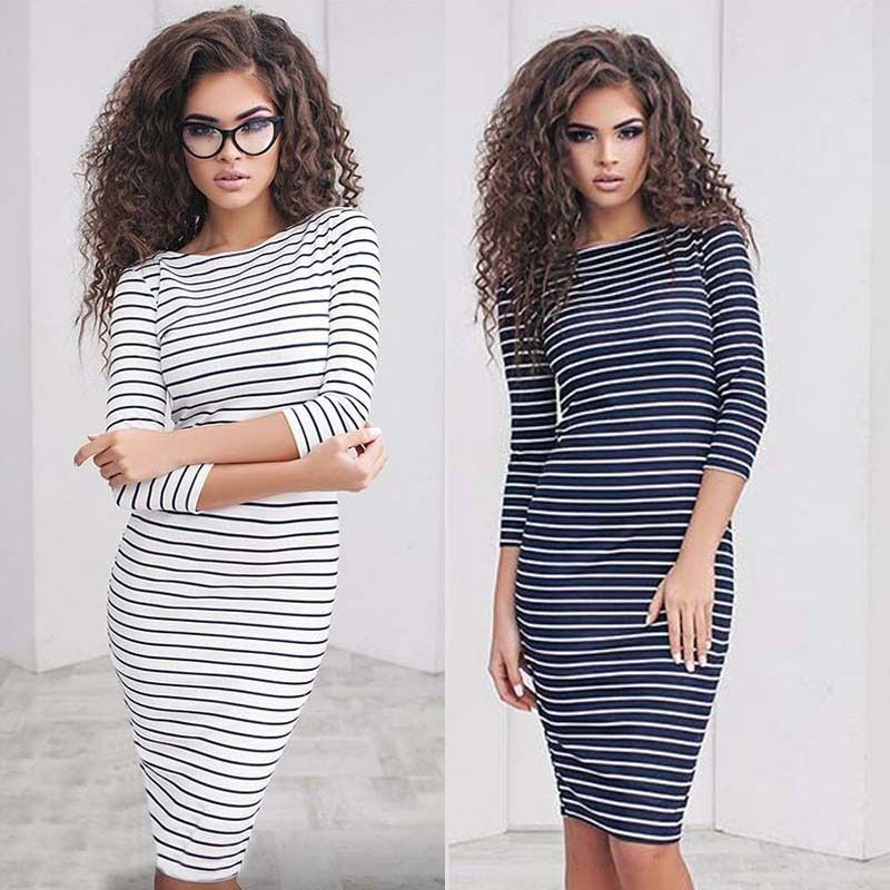 Ladies Strapless Casual Dresses