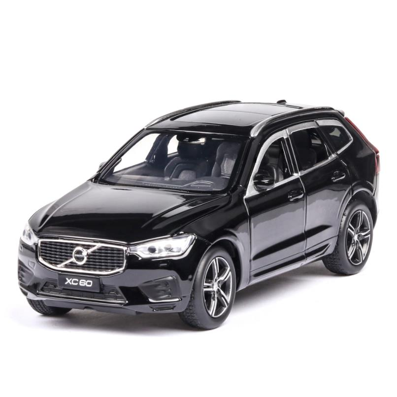 1/32 Diecasts & Toy Vehicles VOLVO XC60 Car Model With Sound&Light Collection Car Toys For Boy Children Gift Brinquedos(China)