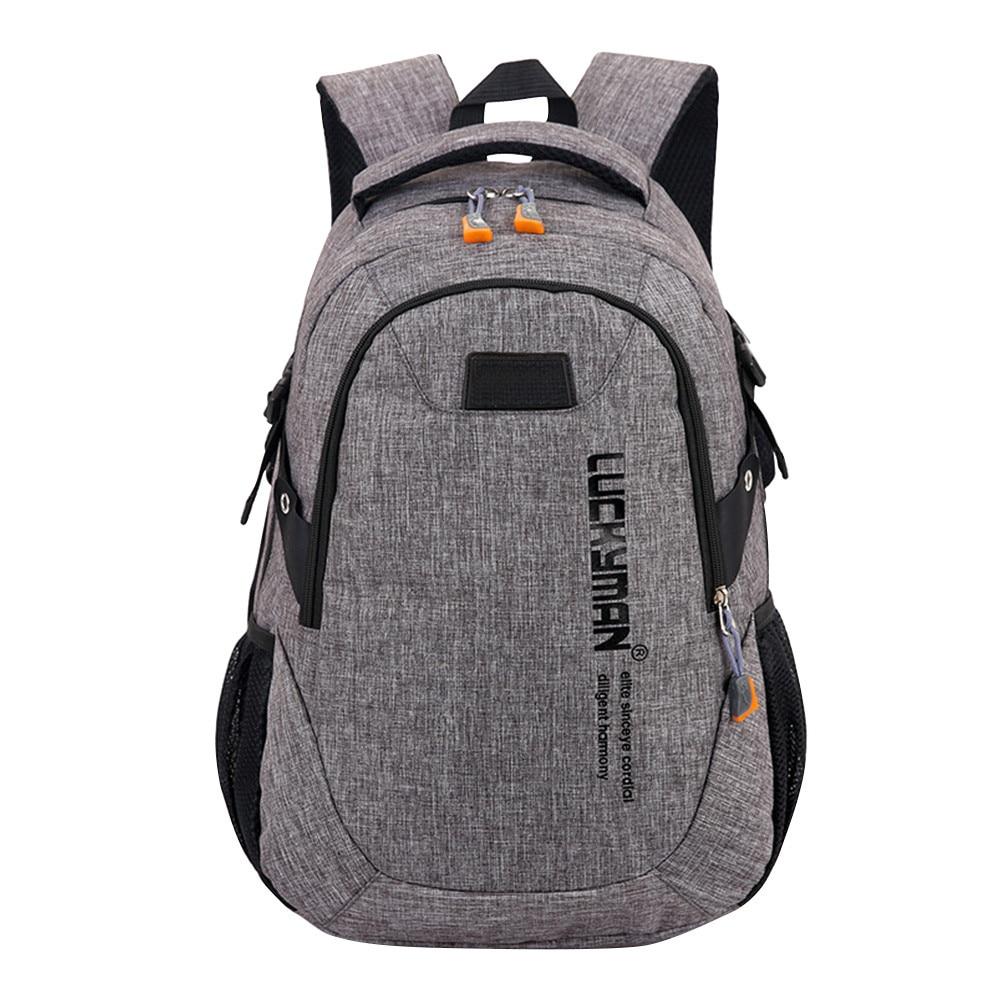 Fashion Causal Waterproof Backpack canvas Travel bag Backpacks Unisex laptop bags Designer student bag Mochila Masculina Innrech Market.com