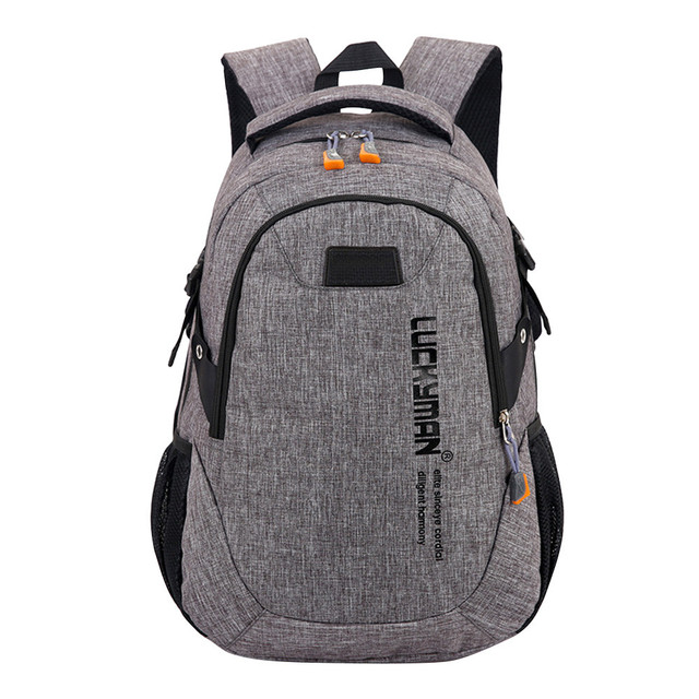 9b65282ce44d Fashion Causal Waterproof Backpack canvas Travel bag Backpacks Unisex  laptop bags Designer student bag Mochila Masculina #YL5