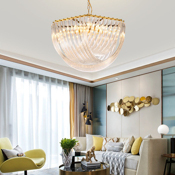 Moderne LED opknoping lichten woonkamer hanglamp Kristallen hanger armaturen luxe Iron armaturen slaapkamer zwevende lamp