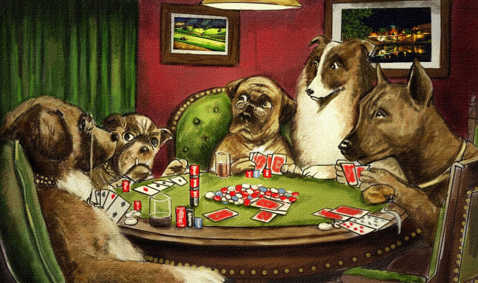 Dog poker promotion shop for promotional dog poker on - Cuadros para bares ...