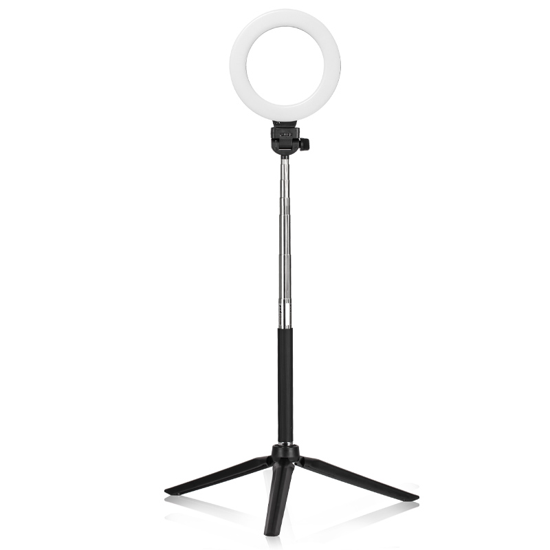 XINHUANG Photography Dimmable LED Selfie Ring Light YouTube Video Live 3500-5500k Photo Studio Light with Phone Holder USB Plug Tripod Color : H