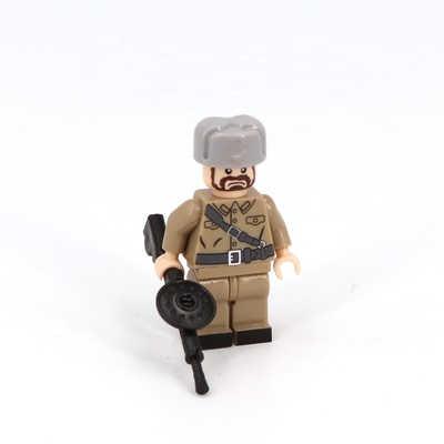 Мировая война 2 WW2 советское оружие солдата Мини фигурки военные части оружия аксессуары Playmobil город Кирпичи Строительные блоки игрушки