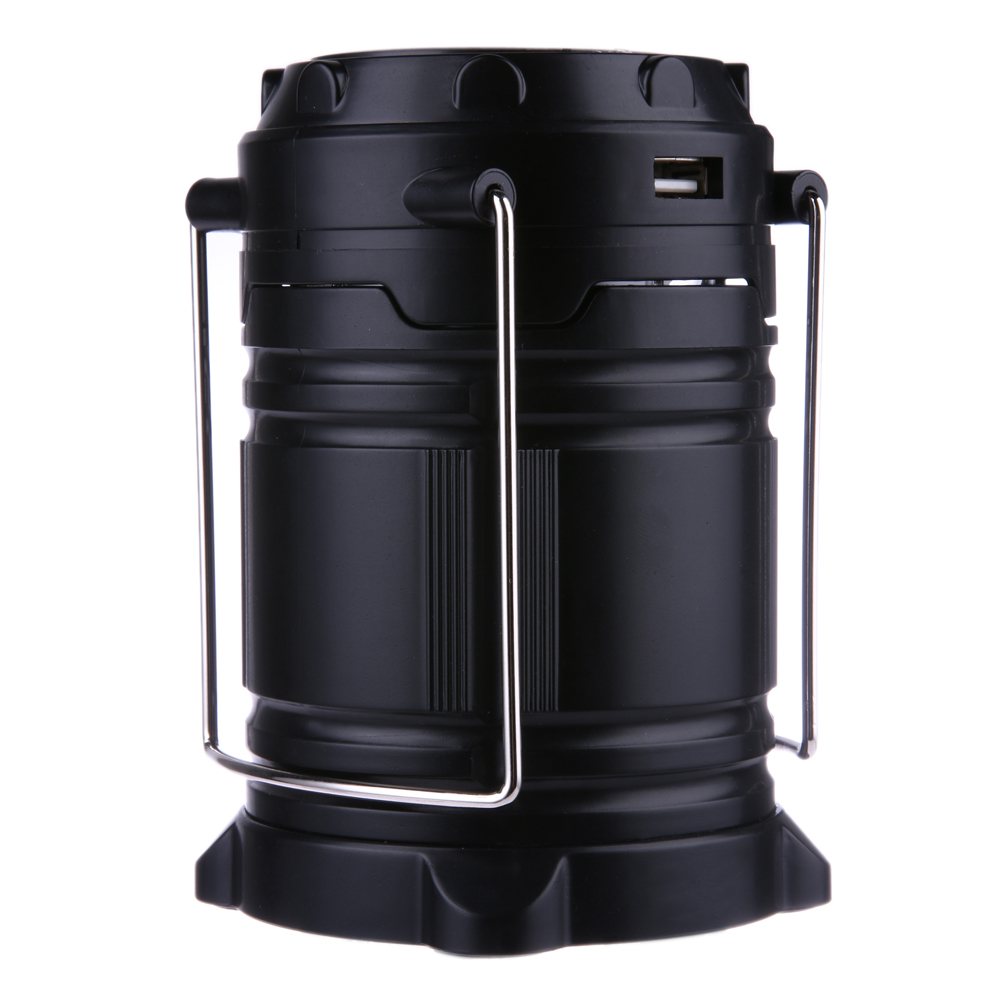 6 LED Hand Lamp Portable Led Light Solar Collapsible Camping Lantern Tent Lights Rechargeable Emergency For Outdoor Lighting