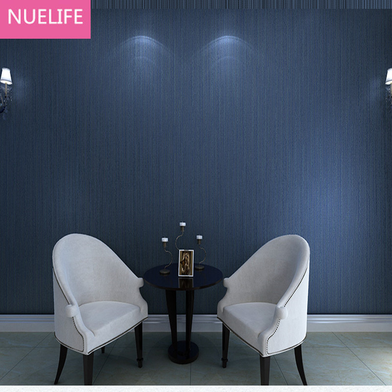 3D Dark Blue Wallpaper rolls plain non-woven stripe wallpapers wave stripe living room background wallcoverings 0.53x10 Meter napapijri guji check dark blue