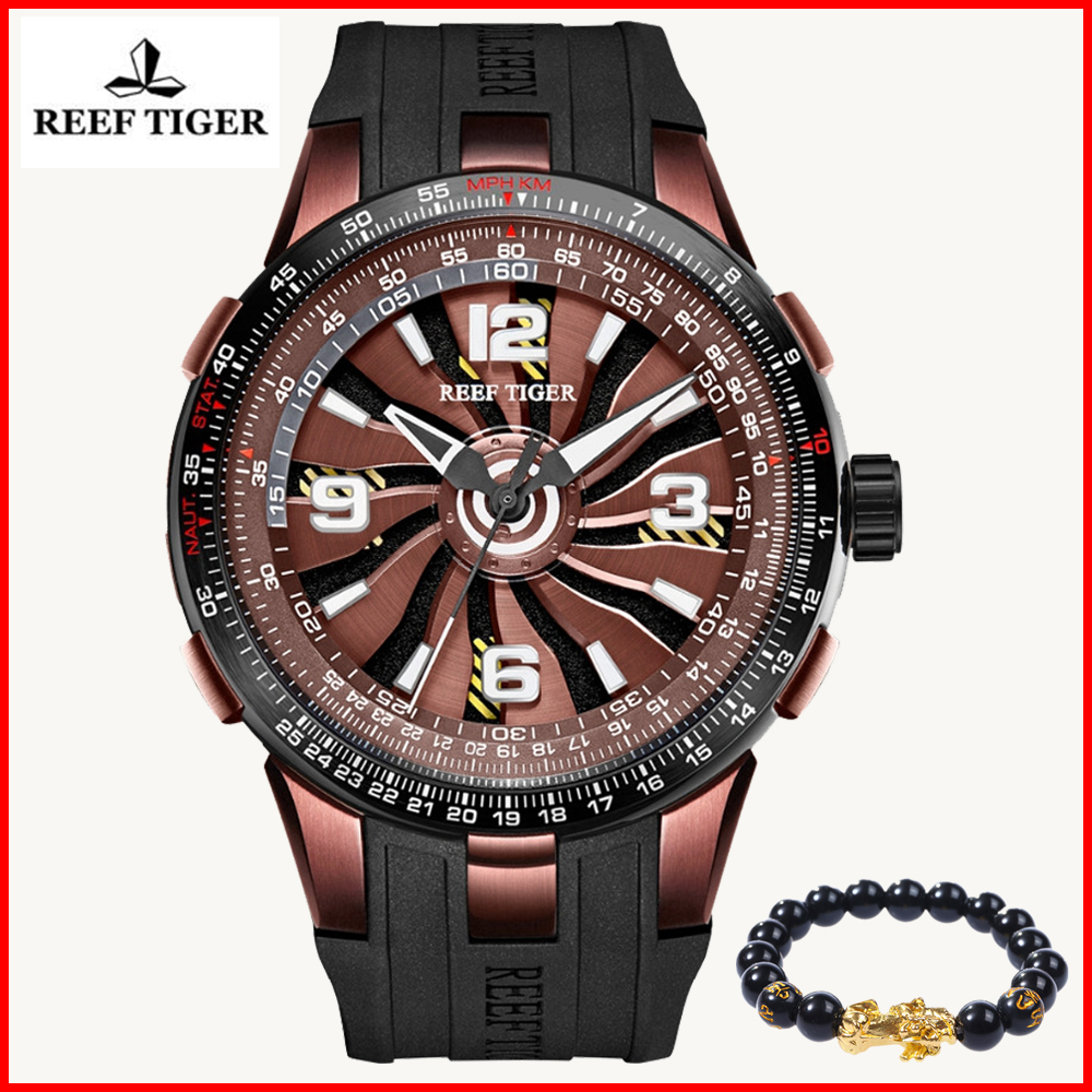 2019 Brand Design Reef Tiger/RT Military Watches Mens Sport Rubber Strap Automatic Rotate Pilot Watch Relogio Masculino RGA30592019 Brand Design Reef Tiger/RT Military Watches Mens Sport Rubber Strap Automatic Rotate Pilot Watch Relogio Masculino RGA3059