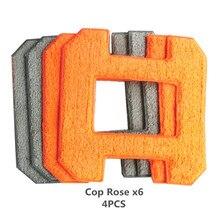 Seamoy очистки окон робот волокно уборки одежды 4 шт. для мойки окон пылесос-робот X6