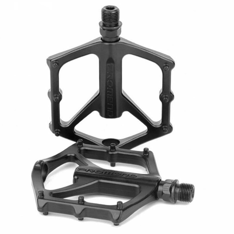 цена на PROMEND Mountain Bike Pedal Lightweight Aluminium Alloy Bearing Pedals for BMX Road MTB Bicycle
