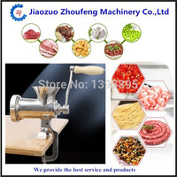 Meat grinder high quality multifunctional stainless steel manual meat mincer pepper herb grinders 8# ZF