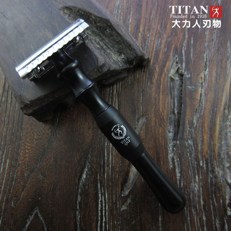 titan razor metal handle shaving razor double edge blade free shipping цены
