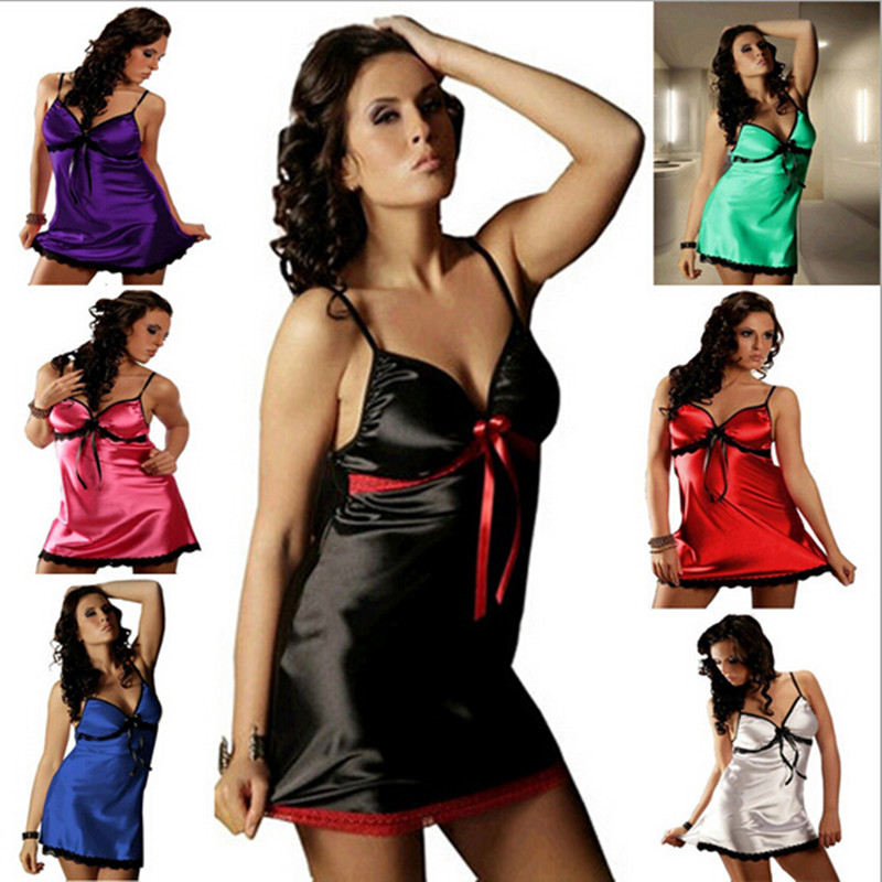 free shipping plus size Sexy Night Gown Women Robe Sexy Lingerie Hot Sleepwear font b Sex