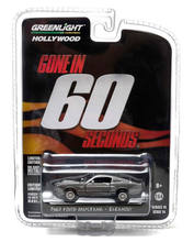 GL 1:64 1967 FORD MUSTANG ELEANOR alloy model Car Diecast Metal Toys Birthday Gift For Kids Boy(China)