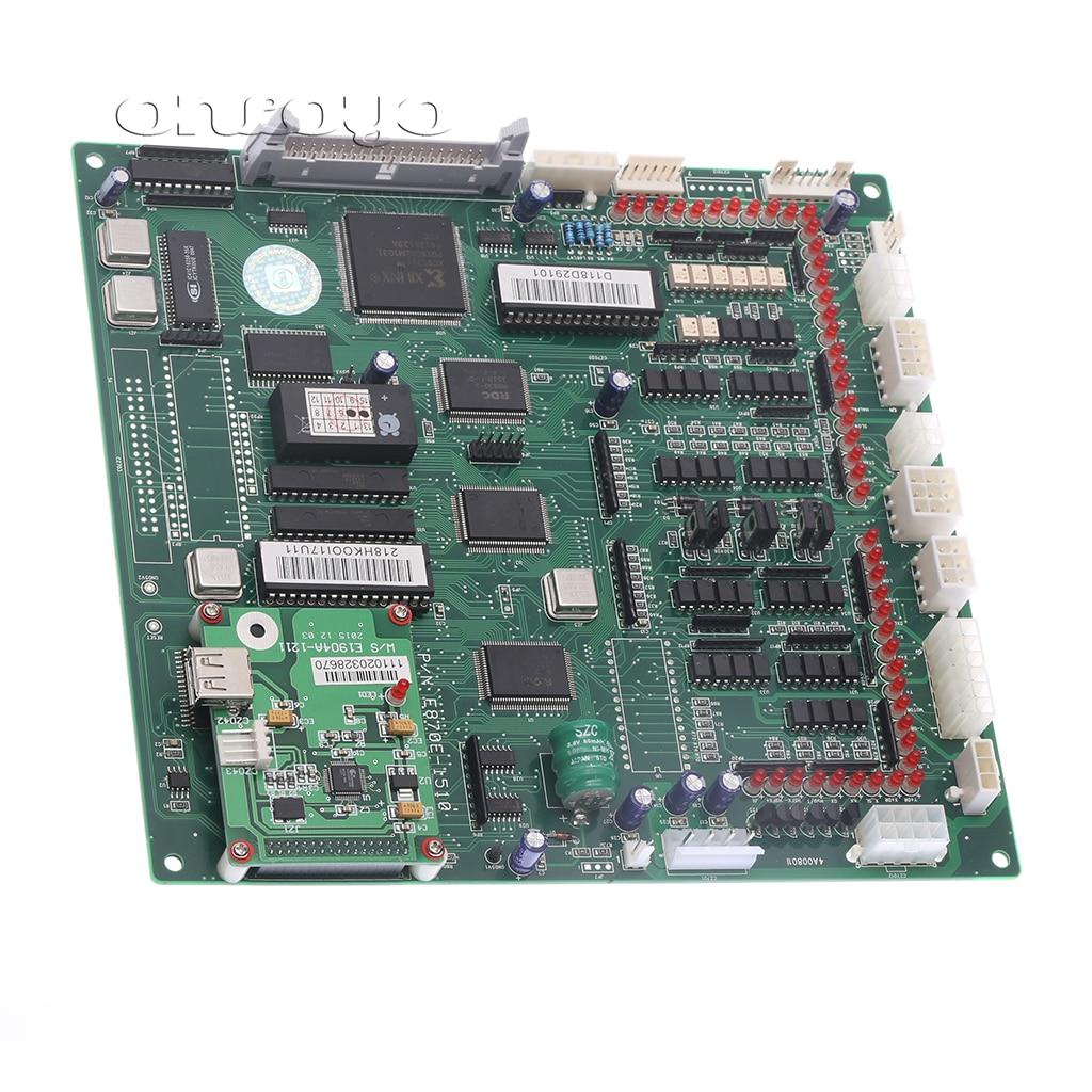 118 128 CPU carte principale P/N E870 avec USB pour les machines à broder chinoises Feiya ZGM Haina etc/pièces de rechange électroniques