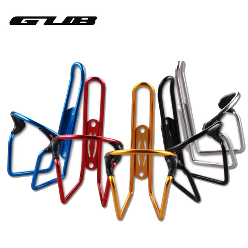 GUB Multi-color Cycling Drink Water Bottle Cage Aluminium Bike Water Bottle Holder Rack Adjustable Bike Accessories Ciclismo Cag