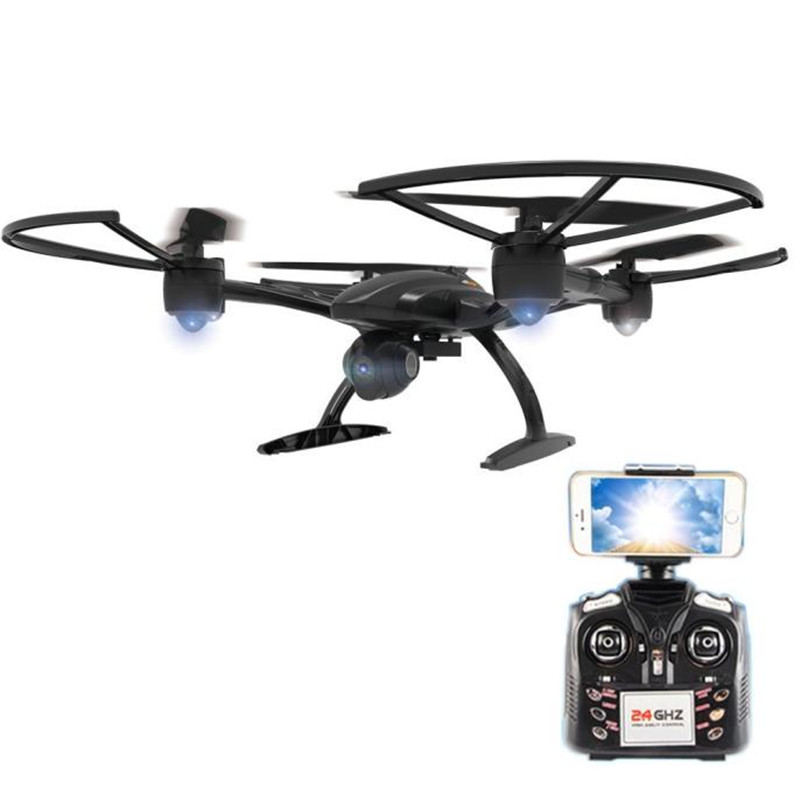 High Qaulity JXD 509W WiFi FPV Camera High Hold Mode 2.4GHZ 4CH 6-Aixs RC Quadcopter RTF Dorp Shipping jjr c jjrc h43wh h43 selfie elfie wifi fpv with hd camera altitude hold headless mode foldable arm rc quadcopter drone h37 mini