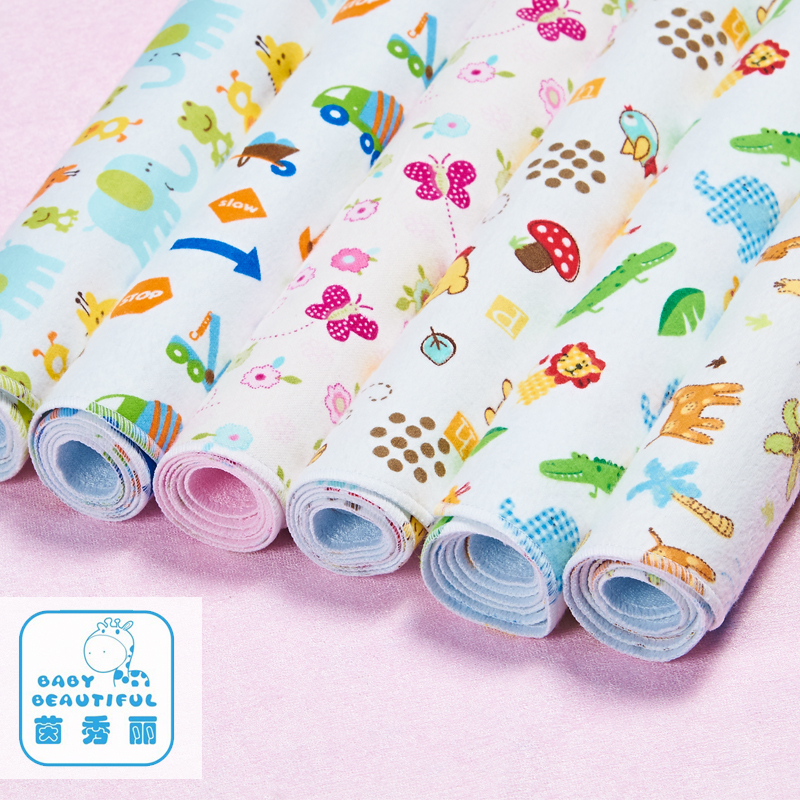 Hot Sales 50x70cm Baby Infant Waterproof Urine Bed Mat Animal Reusable Diaper Travel Home Cover Burp Changing Pads