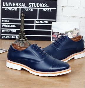Zapatos azul marino casual para hombre pthOQPR2s