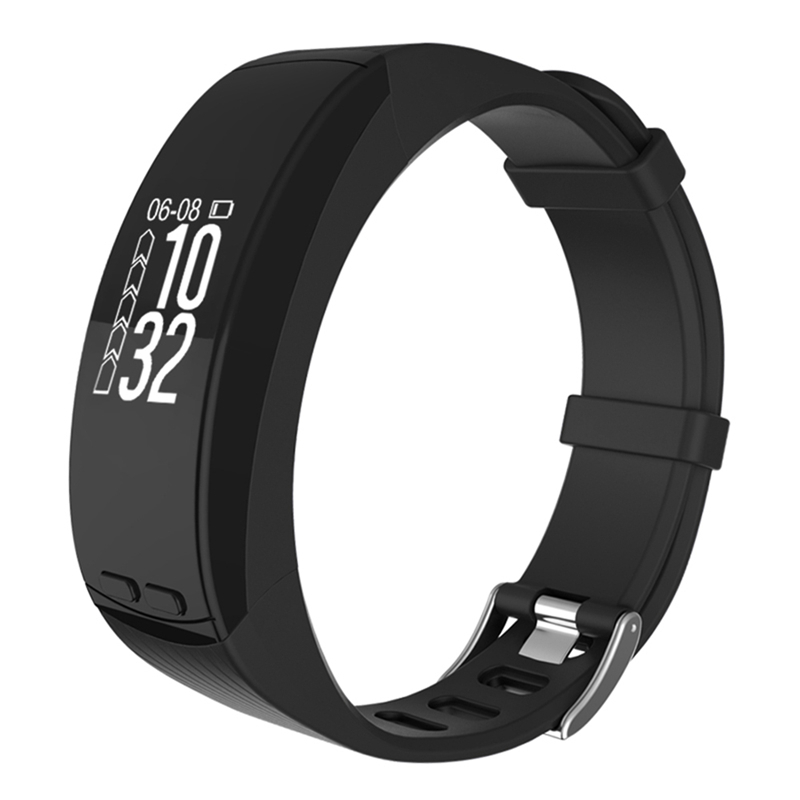 Nouveau Bracelet intelligent P5 0.96 ''OLED GPS Sport de plein air Smartband fréquence cardiaque Altitude température mesure podomètre moniteur Bracelet