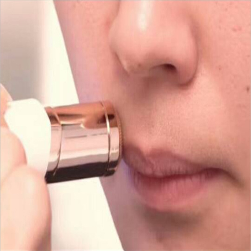 Electric Painless Lipstick Shape Epilator Shaving Shaver Lady Hair Remover Mini Female Hair Removal Razor For Women Body Face