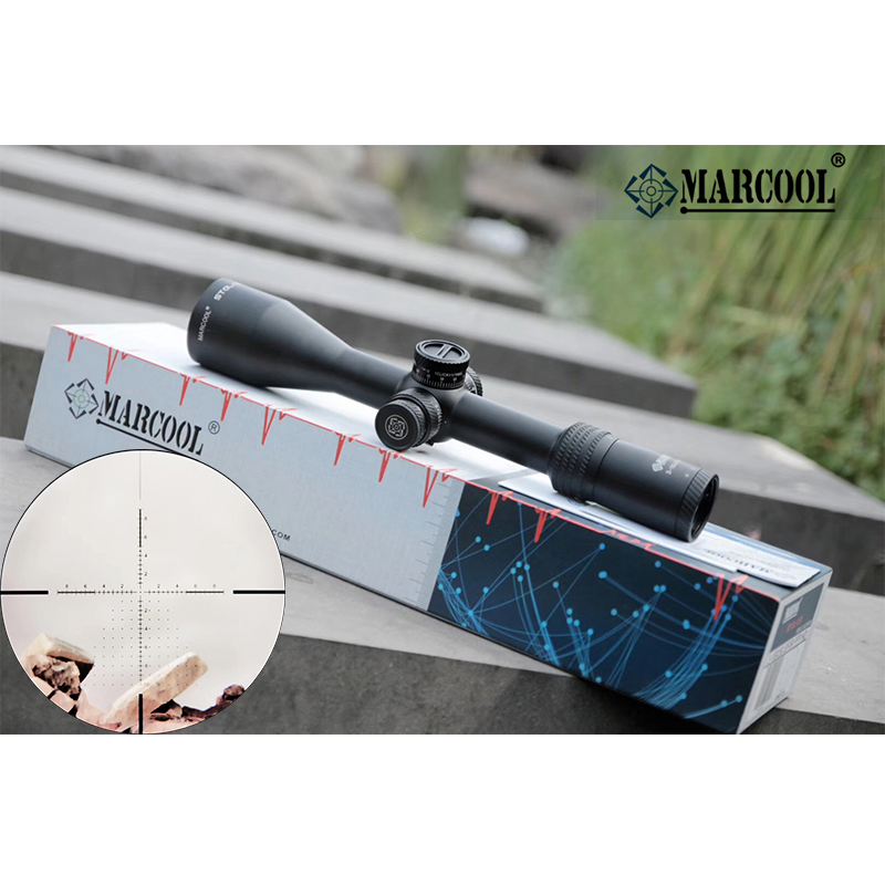 MARCOOL 3-18X50 Tactical Optic Sight In Riflescope Rifle Scope Sniper Hunting Scopes Airgun Rifle Outdoor Reticle Sight Scope